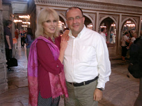 [ Joanna Lumley with Serhan