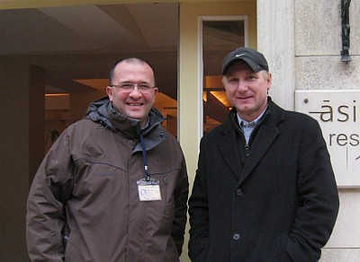 [ Serhan with Dan Brown in Istanbul ]